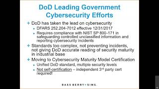 The Federal Government's Continuing IT Upgrade – Changes in Cloud Computing & Cybersecurity 2021