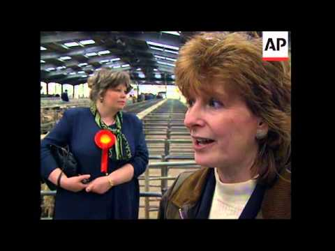 UK: MAJORITY OF BRITAIN'S FARMERS WILL VOTE CONSERVATIVE IN ELECTION