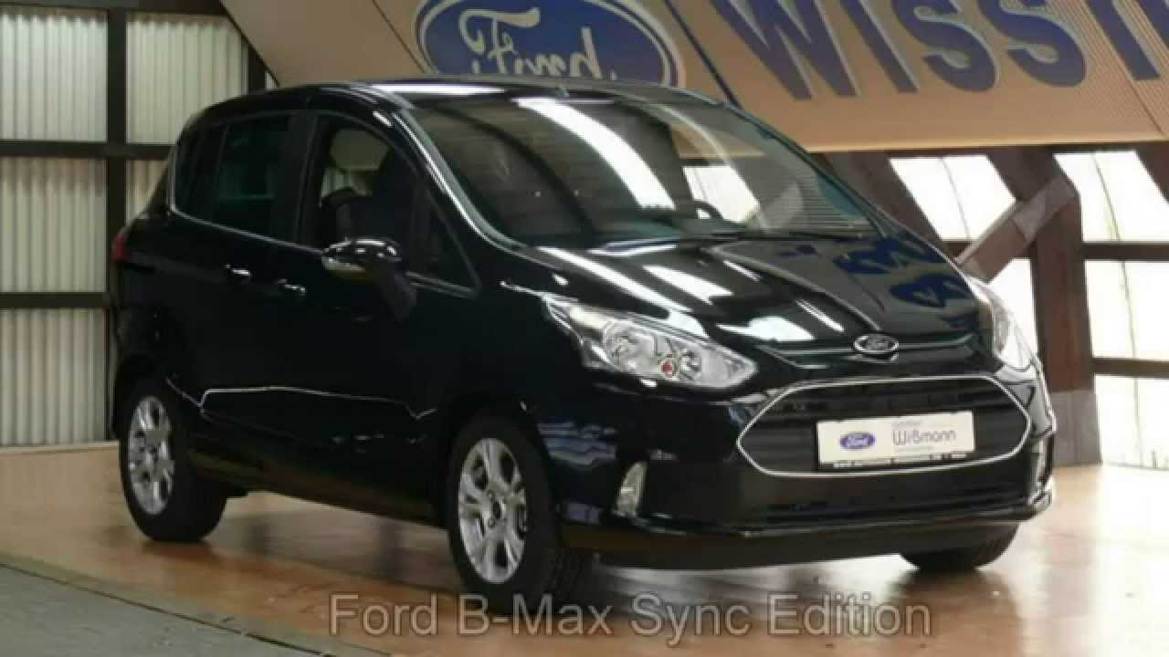 ford b max sync edition erjkej34659 autohaus wissmann youtube. Black Bedroom Furniture Sets. Home Design Ideas