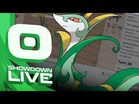 """SUB SEED SERPERIOR"" Mega Metagross Suspect #4 - Pokemon Sun& Moon OU Showdown Live w/PokeaimMD"