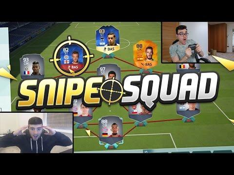 FIFA 16 SNIPE SQUADS!!! TEAM OF THE SEASON FUNES MORI!!! New Fifa 16 Squad Challenge