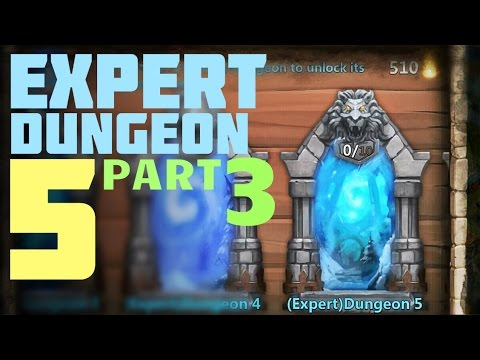 Castle Clash: Expert Dungeon 5 - Level 8 9 10