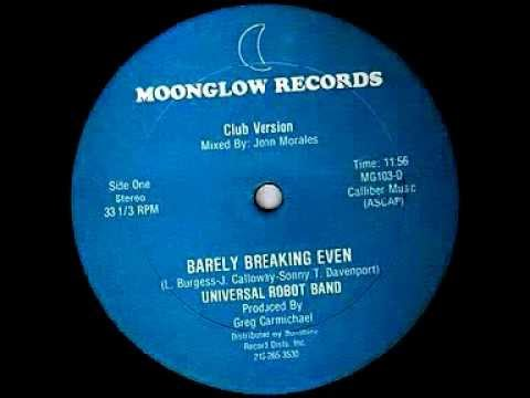 Universal Robot Band - Barely Breaking Even (1982)