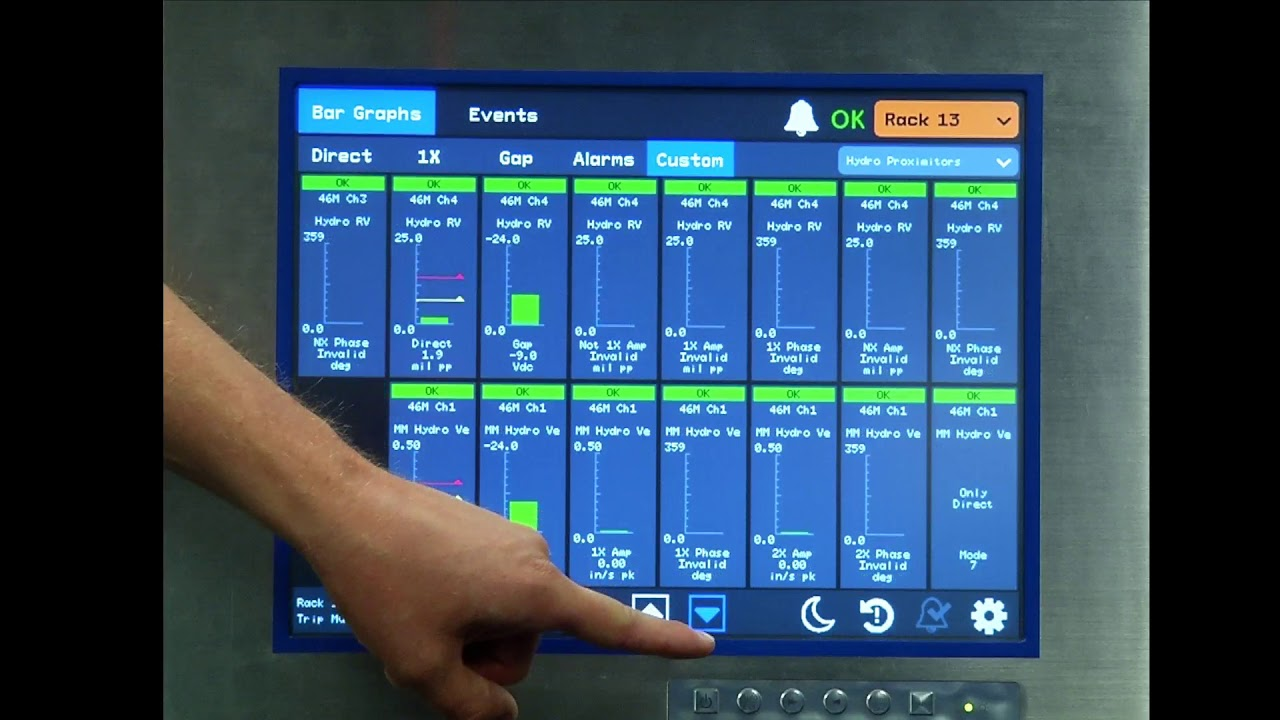 introducing the new bently nevada 3500 94m display hmi youtube rh youtube com bently nevada 3500 user guide bently nevada 3500 manual français