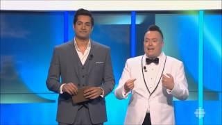 Sugar Sammy et Mike Ward - Gala Les Olivier 2015