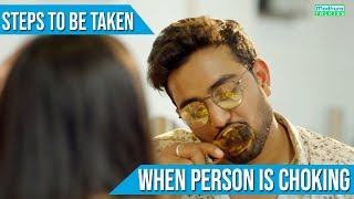 Steps To Be Taken When Person is CHOKING | G1Health India | Madhura Talkies