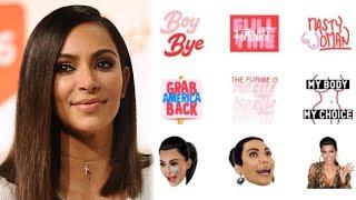 Kim Kardashian Sparks BACKLASH With Feminist Kimojis