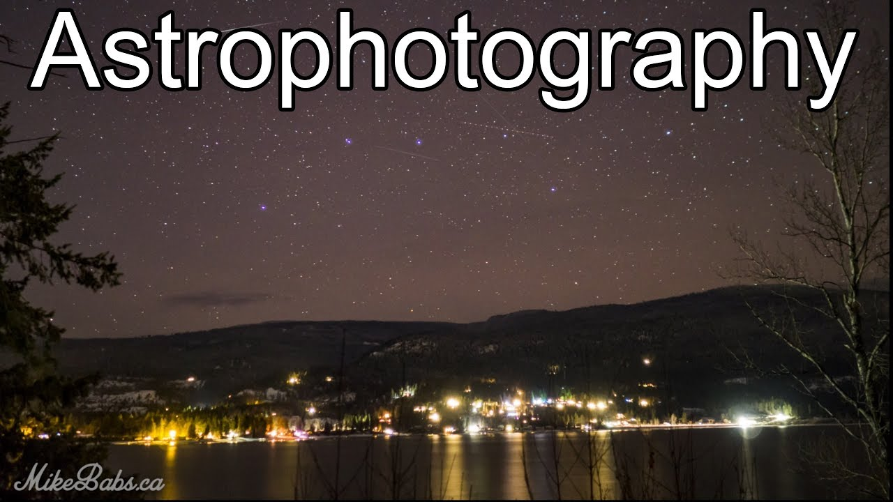 ASTROPHOTOGRAPHY with the Olympus OMD EM10 Mark ii - O-MD E-M10 Long  Exposure of Stars