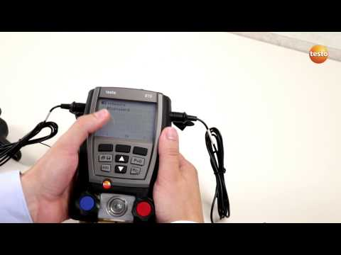Digital manifold testo 570: Save a single measurement (6/8) | Be sure. Testo