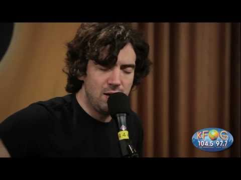 Snow Patrol - Garden Rules (Live at KFOG Radio)