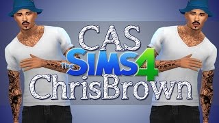 The Sims 4 Create A Sim: Chris Brown