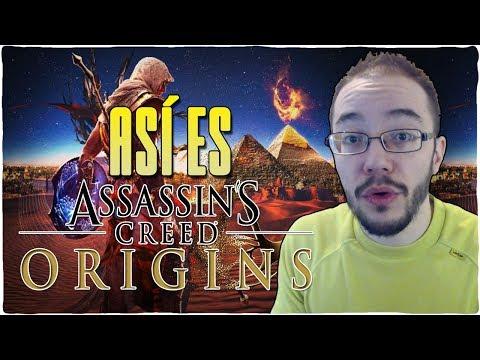 ASSASSIN'S CREED ORIGINS ¿La saga MEJORA o se HUNDE?