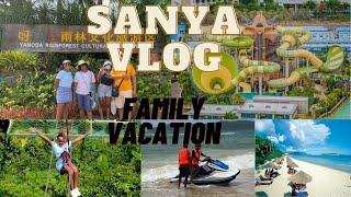 VLOG Family vacation in Hainan China Sanya Summer trip 三亚海南岛