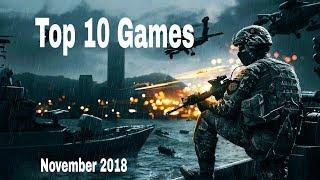 Top 10 games android 2018 November Offline/online (GURU Gaming)