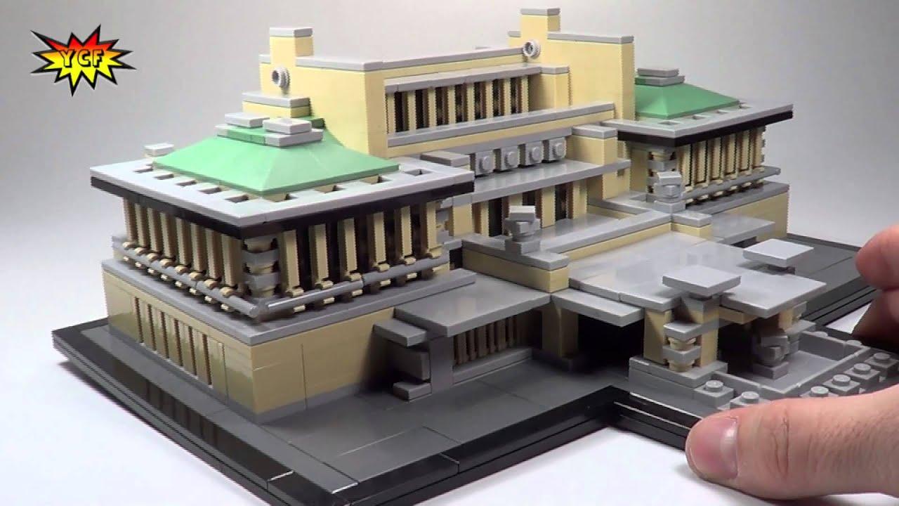 Frank Lloyd Wright Imperial Hotel LEGO