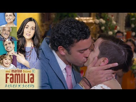 La boda sorpresa de Daniela y Gabriel | Mi marido tiene familia - Televisa