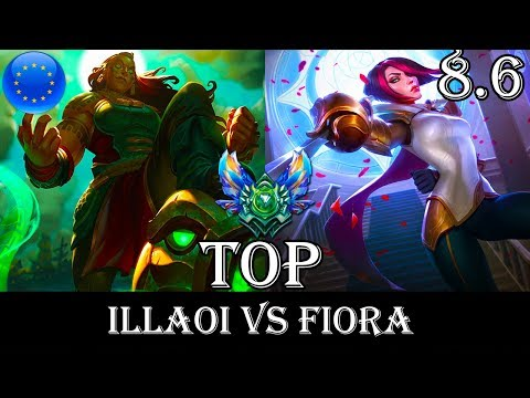 Illaoi vs Fiora Top - Patch 8.6 Diamond Ranked Gameplay (League Of Legends)