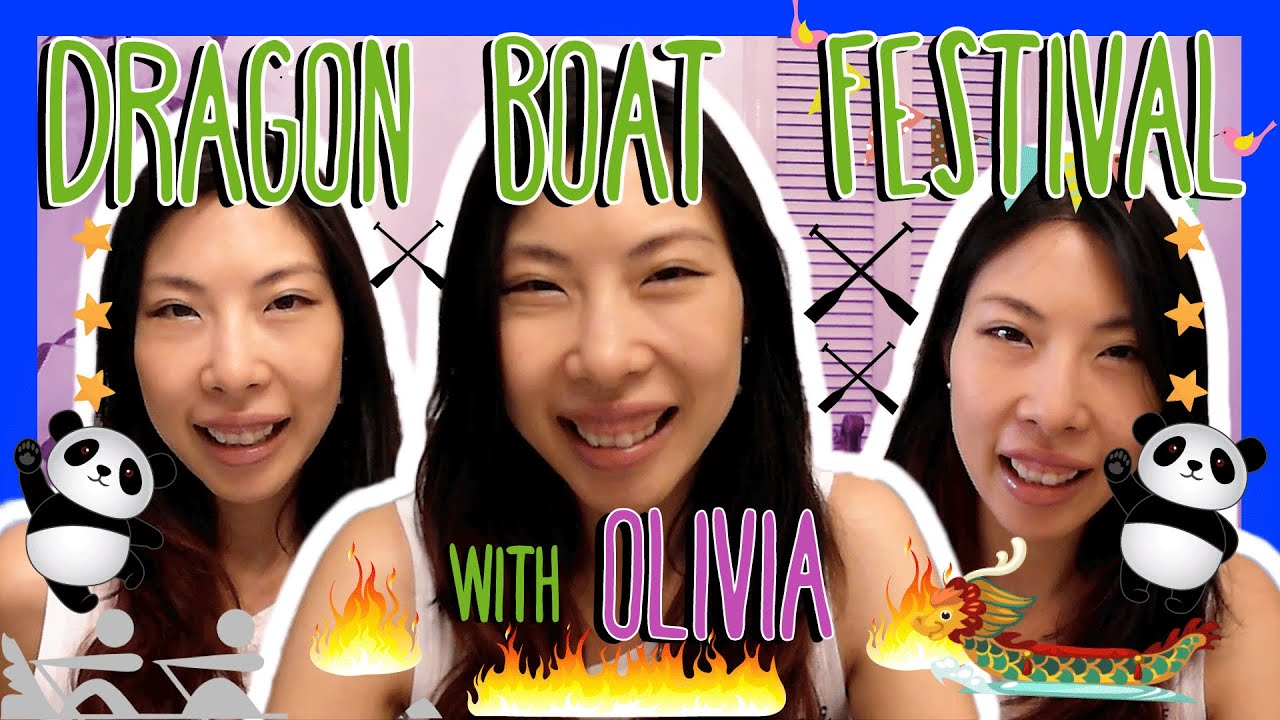 Cantonese DRAGON BOAT FESTIVAL Words with Olivia! - 端午節