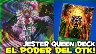 La REINA del OTK  Jester Queen Competitive Deck  Yu-Gi-Oh! Duel Links