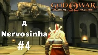 God Of War - Chains Of Olympus #4 - Confronto com a Nervosinha