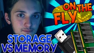 MEMORY VS STORAGE - Difference Between Memory and Storage