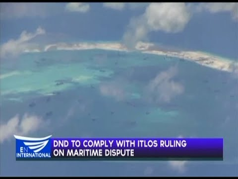 DND to comply with ITLOS ruling on maritime dispute