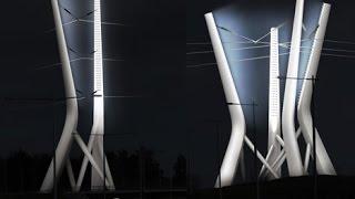 Zamonaviy elektr pylon, yangi intellektual parvona