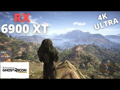 Tom Clancy's Ghost Recon Wildlands: RX 6900 XT + Ryzen 9 5950X   4K   Ultra Settings  