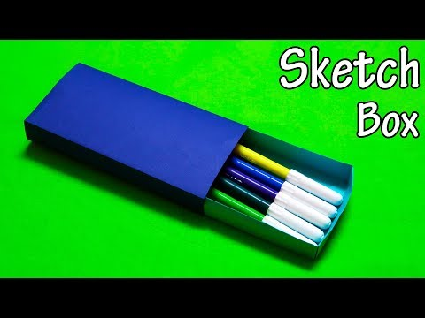 How to make a Paper Box - Paper Sketch Box