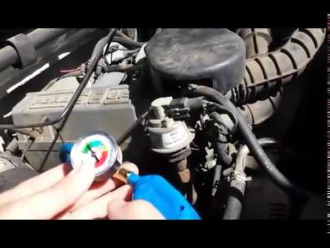 Charging an AC System on 95 Ford F150 Using A Jumper Wire To Engage