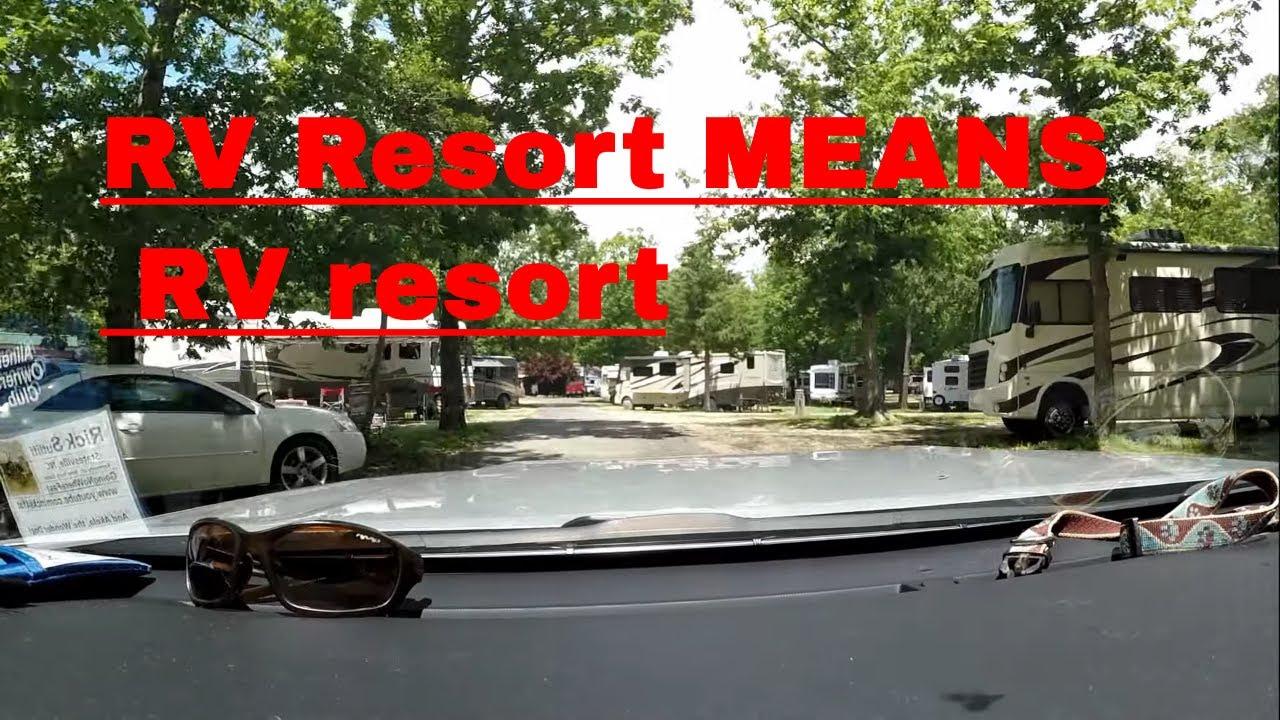 1000 Trails RV Resort, Williamsburg, Va  -A Passport America