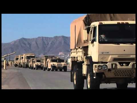 Soldiers from 2nd BCT, 1st AD Move Out to NIE 14.1