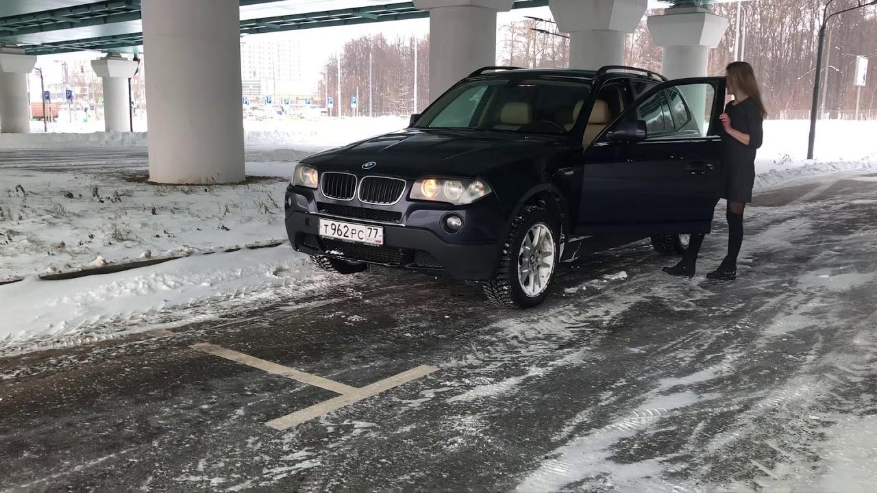 Дрифт BMW X3