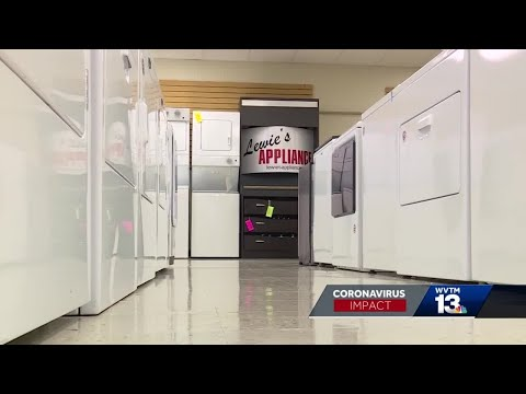 Delay In Appliance Deliveries From Big-box Stores Leads To Big Business For Local Stores