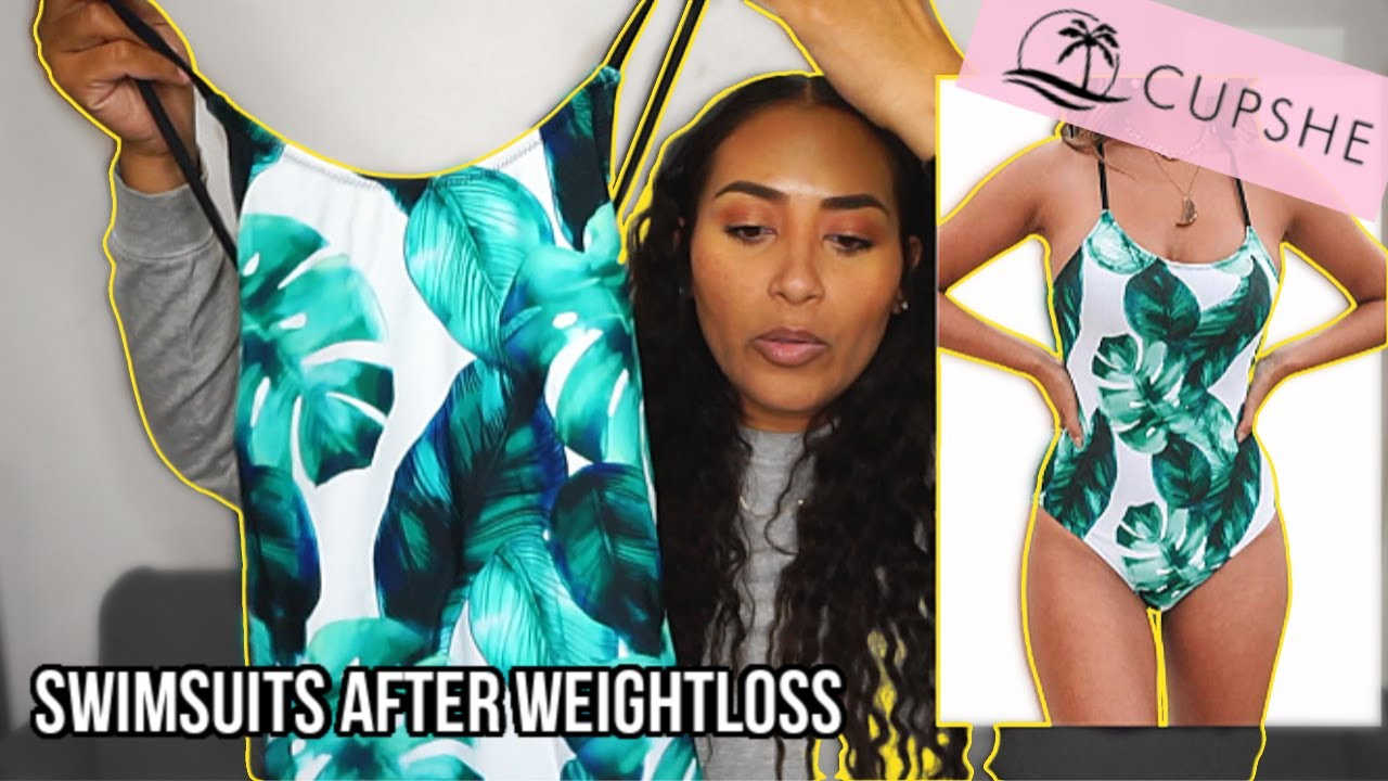SWIMSUITS AFTER WEIGHT LOSS / CUPSHE AFFORDABLE SWIMSUIT HAUL 2020