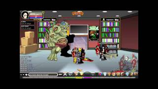 aq world how to get down the stairs secret hideout instrucrions in description