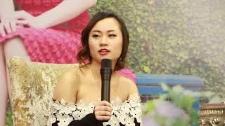"""Lã Hồ Thị Minh Khuê - sinh viên trường đại học Havard trong chương trình """"Chuyện kể từ Havard"""""""