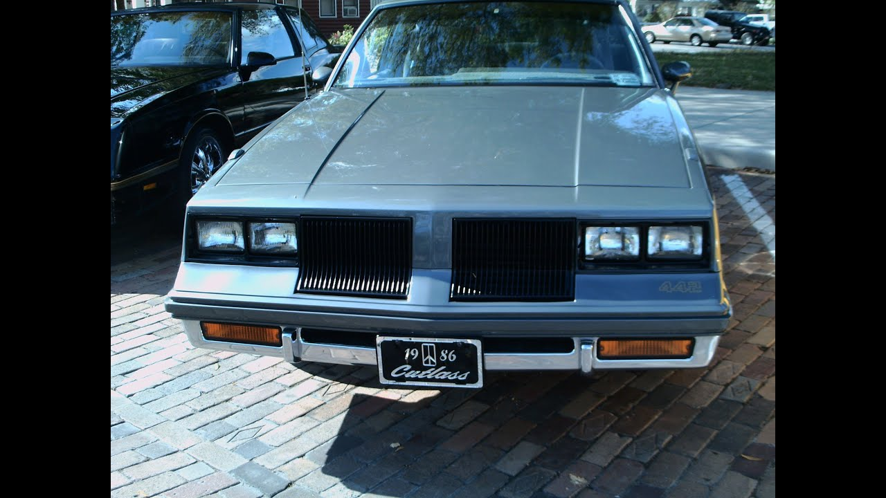 1986 olds cutlass salon 442 clone graywg031712 youtube for 85 cutlass salon