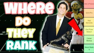 Download Ranking Heisman winners from the 2000's based on their NFL success Mp3 and Videos