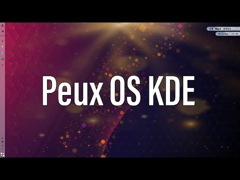 Peux OS   A Beautiful New KDE Distribution