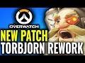 Huge Torbjorn Rework & Pharah Changes! [Overwatch PTR Patch]