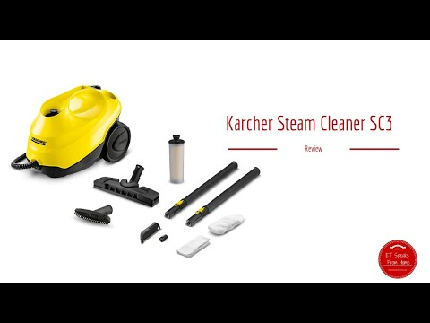 Karcher Steam Cleaner SC3 review