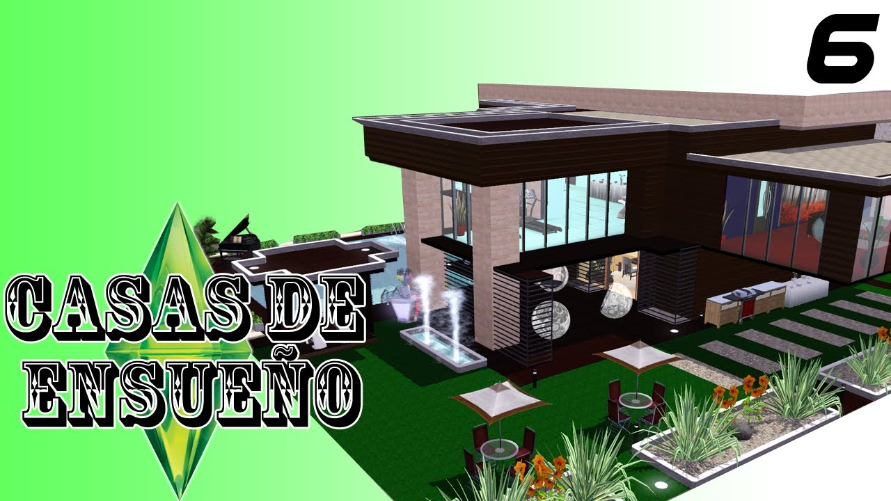 Casas de ensue o casa 6 serie sims 3 descarga youtube - Casas de ensueno ...