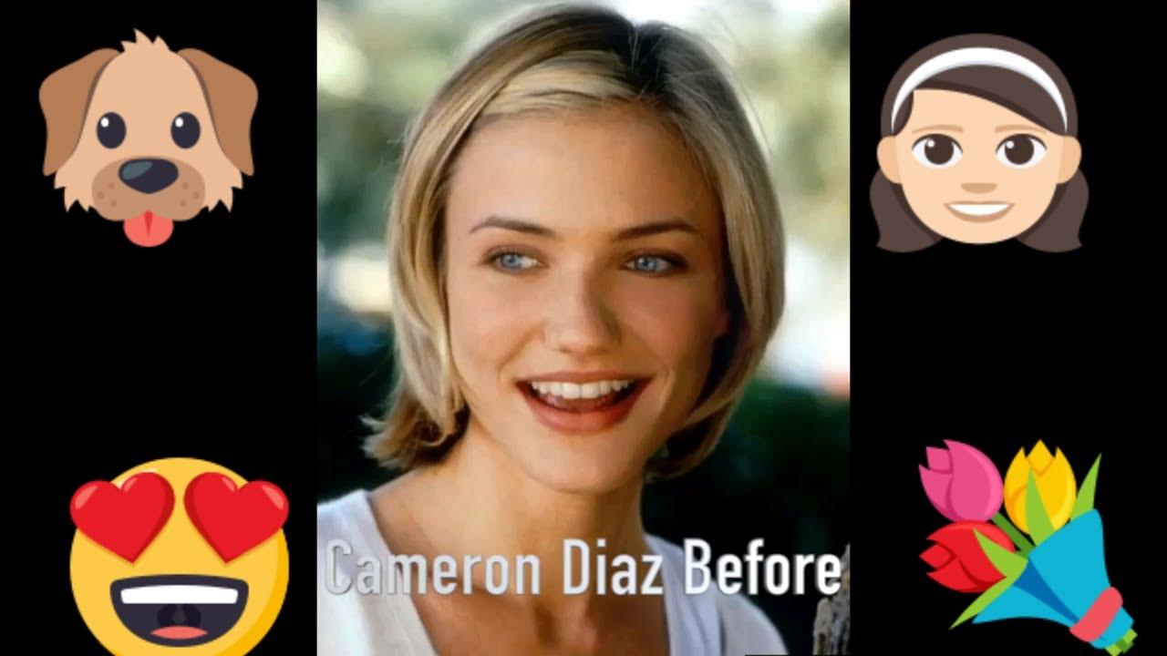 Cameron Diaz - Popular Celebrity Face Progression 38: Grown Ups