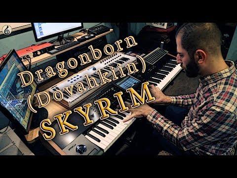 """Dragonborn"" - Skyrim  featuring Spectrasonics Keyscape Acoustic Piano"