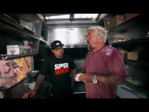 Diners, Drive In's & Dives - Señor Sisig (Food Network)
