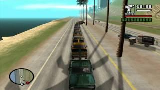 GTA San Andreas [PC] - Towtruck Fun! (HD)