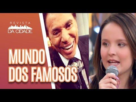 Larissa Manoela E A Praga De Silvio Santos + Pabllo Vittar DEFENDE Fã - Revista Da Cidade (09/05/18)