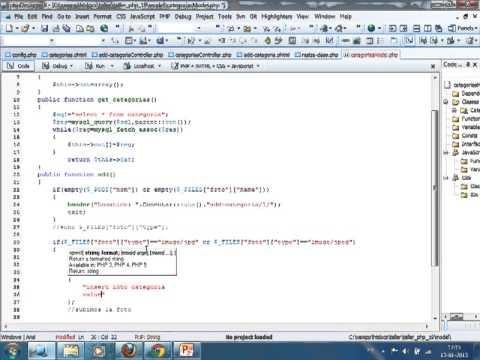 VideoTutorial 19 del Taller Práctico de PHP y MySQL