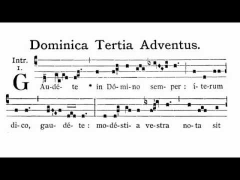 GAUDETE IN DOMINO EPUB